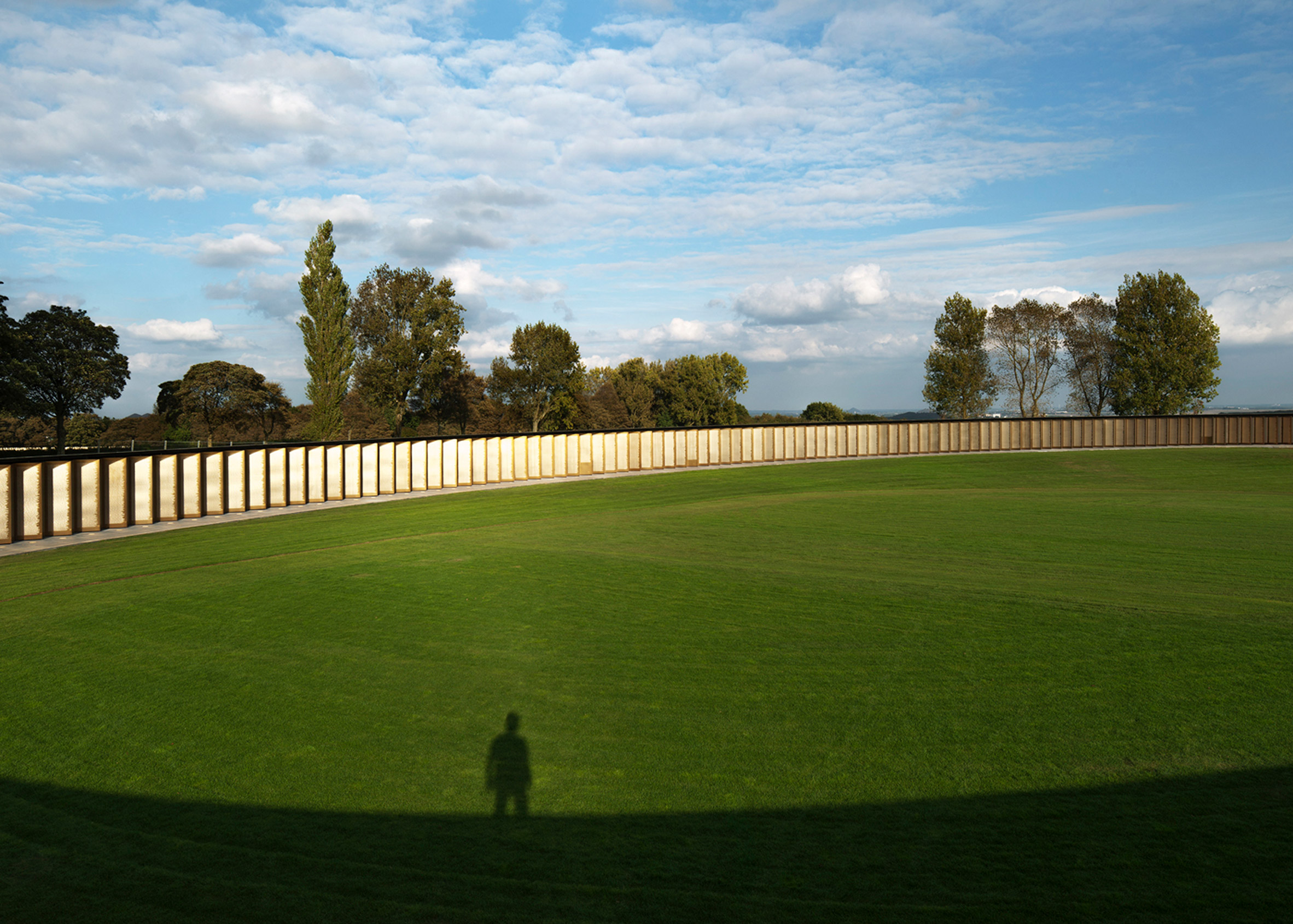 The Ring of Remembrance memorial by Agence d'architecture Philippe Prost. Photograph by Aitor Ortiz