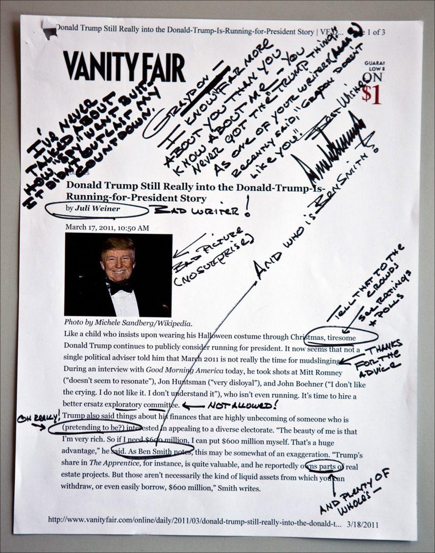 Tiny Hand Donald Trump font