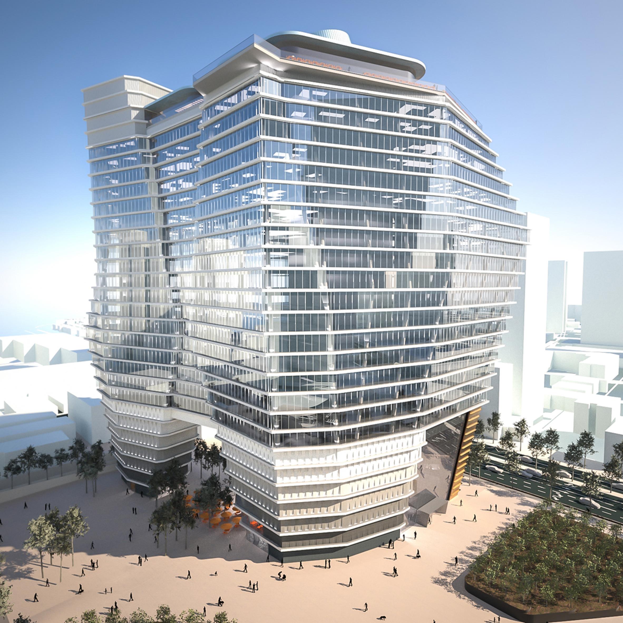 Superb Ron Aradu0027s Tel Aviv Tower Set To Become Israelu0027s Tallest Building