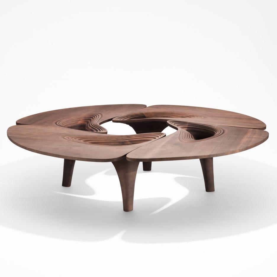 Zaha Hadid Furniture Designs: Zaha Hadid's Final Furniture Collection For David Gill Is