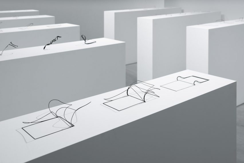Unprinted materials by Nendo