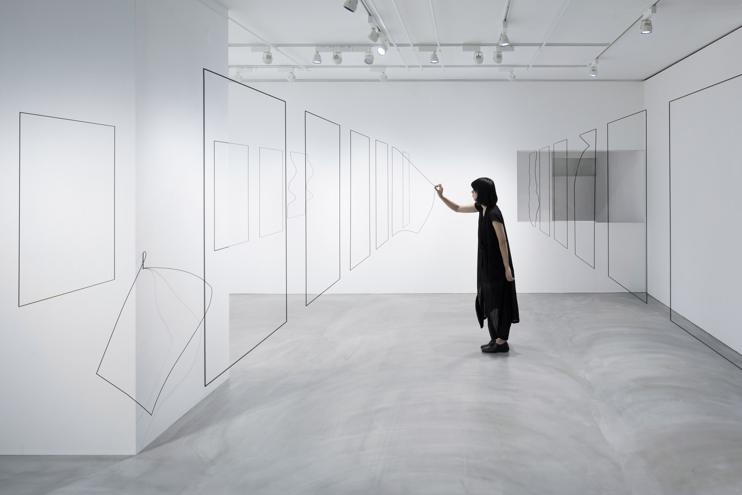 Nendo creates 3D-printed objects that look like the fine outlines of paper