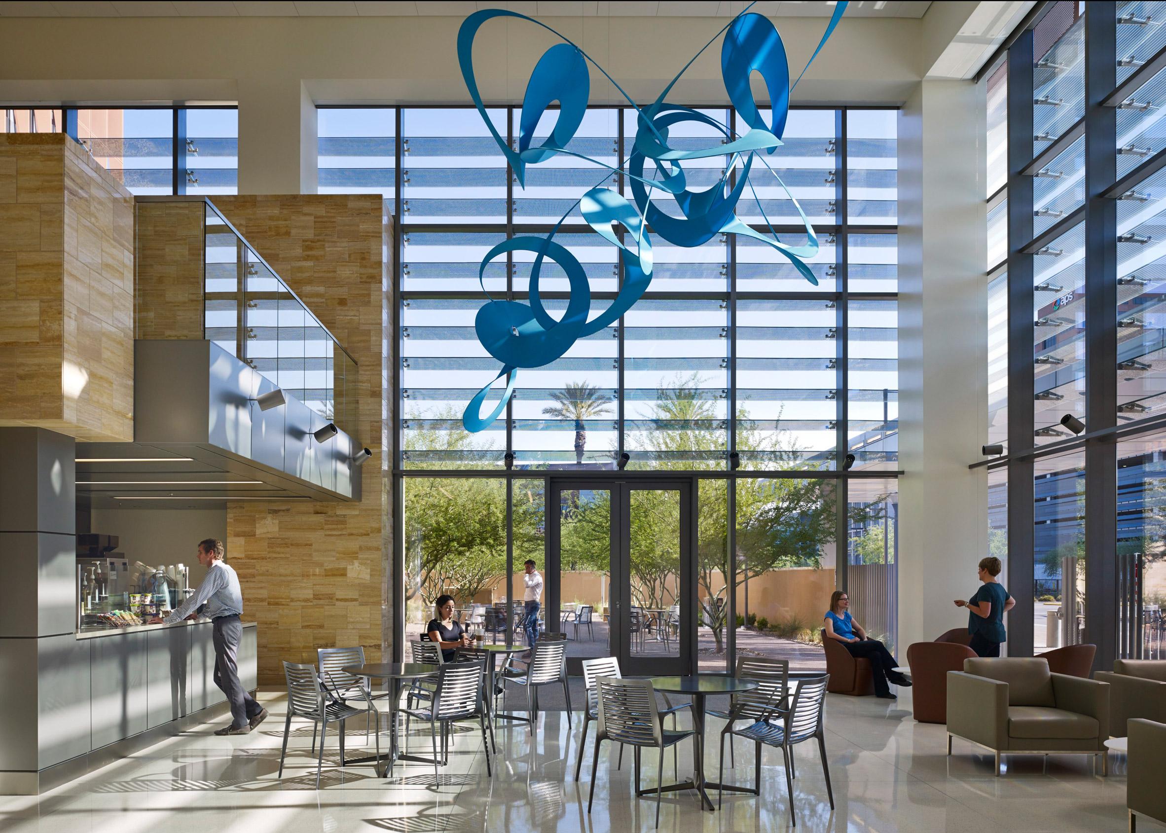 Univ. of Arizona cancer center by ZGF