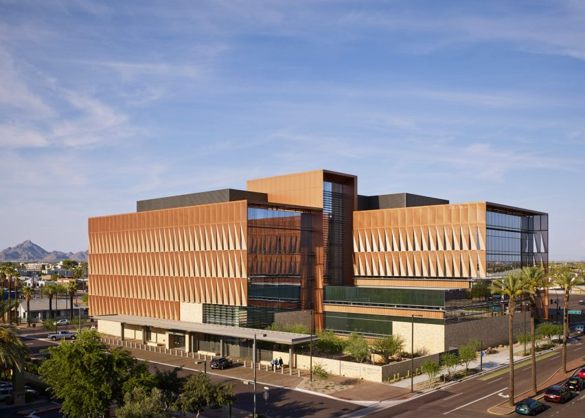Univ. of Arizona cancer center by ZGF