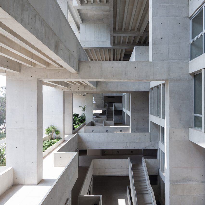 UTEC Universidad de Ingenieria y Tecnologia, Peru, by Lima Grafton Architects and Shell Arquitectos