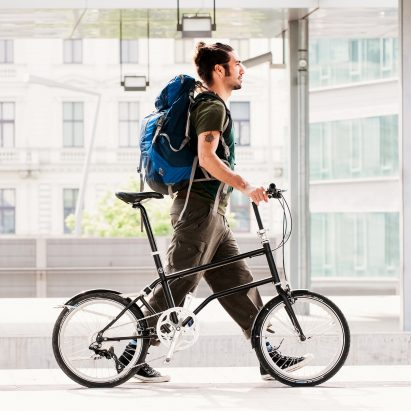 Vello world First Self-Charging Electric Folding Bike