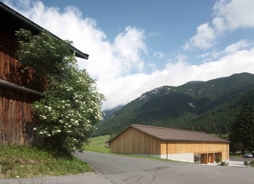 Village House Steinberg am Rofan by Bernardo Bader Architekten
