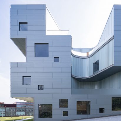 Visual Arts Building By Steven Holl Opens At The University Of Iowa