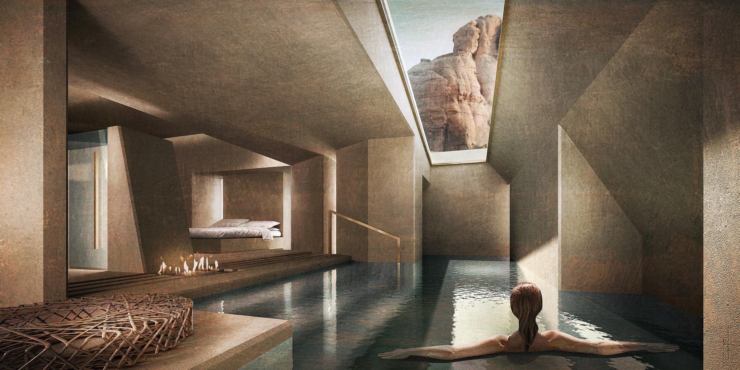 Wadi Rum Excavated Sanctuaries by Rasem Kamal