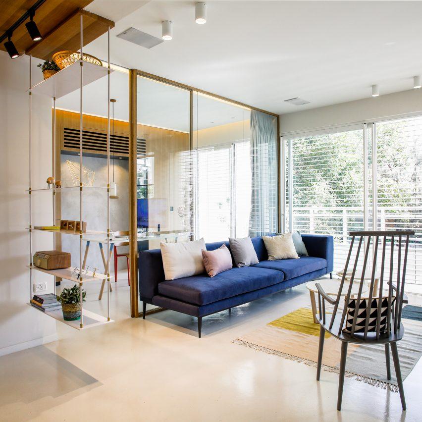 dori updates 1950s apartment in tel aviv with open plan