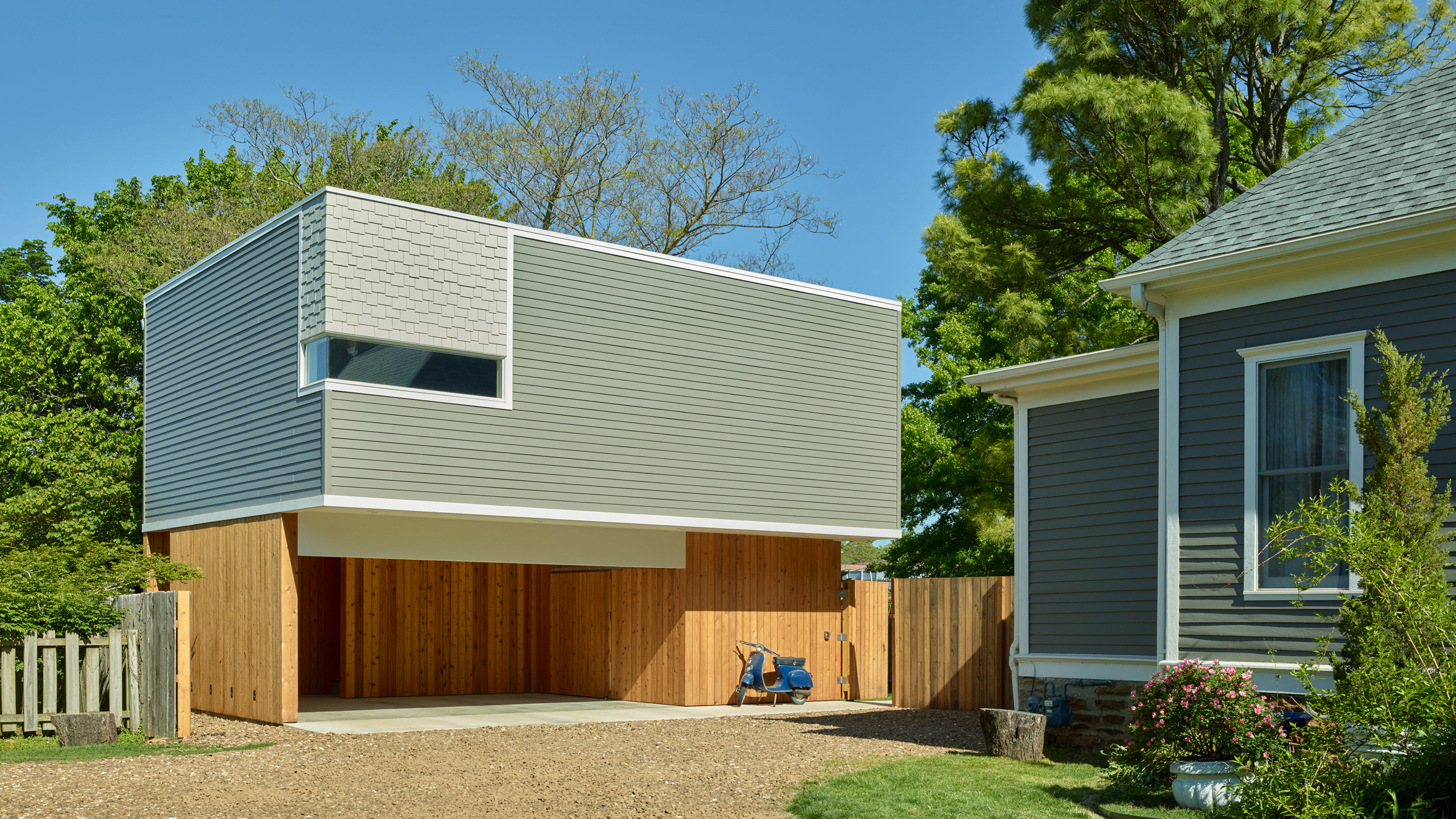 Werner carriage house demx architecture usa arkansas residential