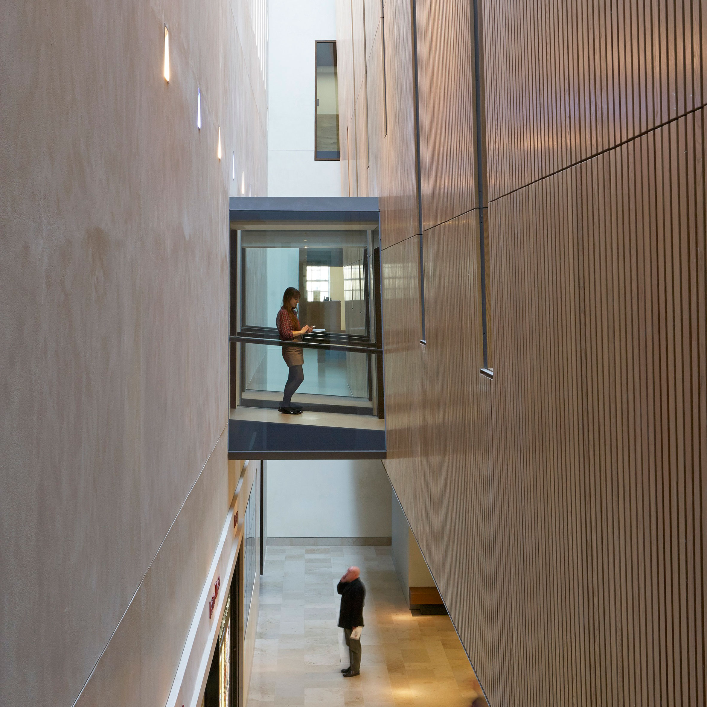 Wilkinson Eyre Inserts Contemporary Details Into Giles Gilbert Scottu0027s  Oxford University Library