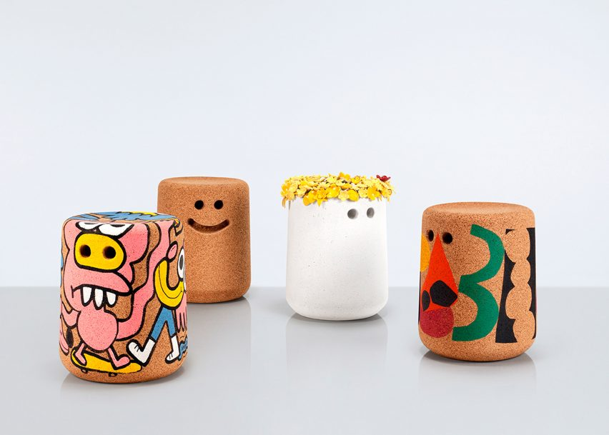 Designers and architects customise Modus' Casper stool for charity auction