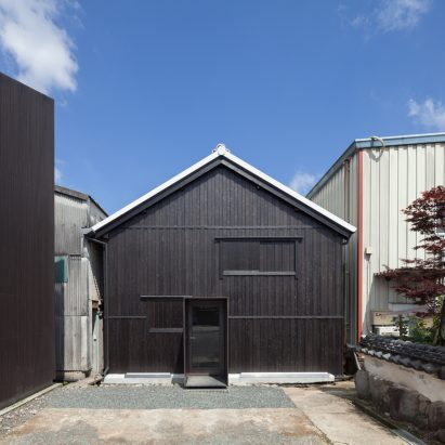 Fukuchiyo sake brewery by yHa Architects