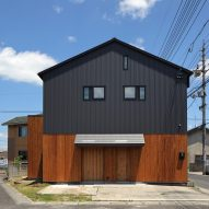 TT Architects transforms furniture factory into family home in Japan