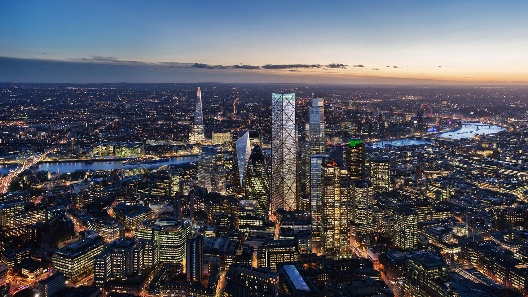 1 Undershaft planning permission by Eric Parry