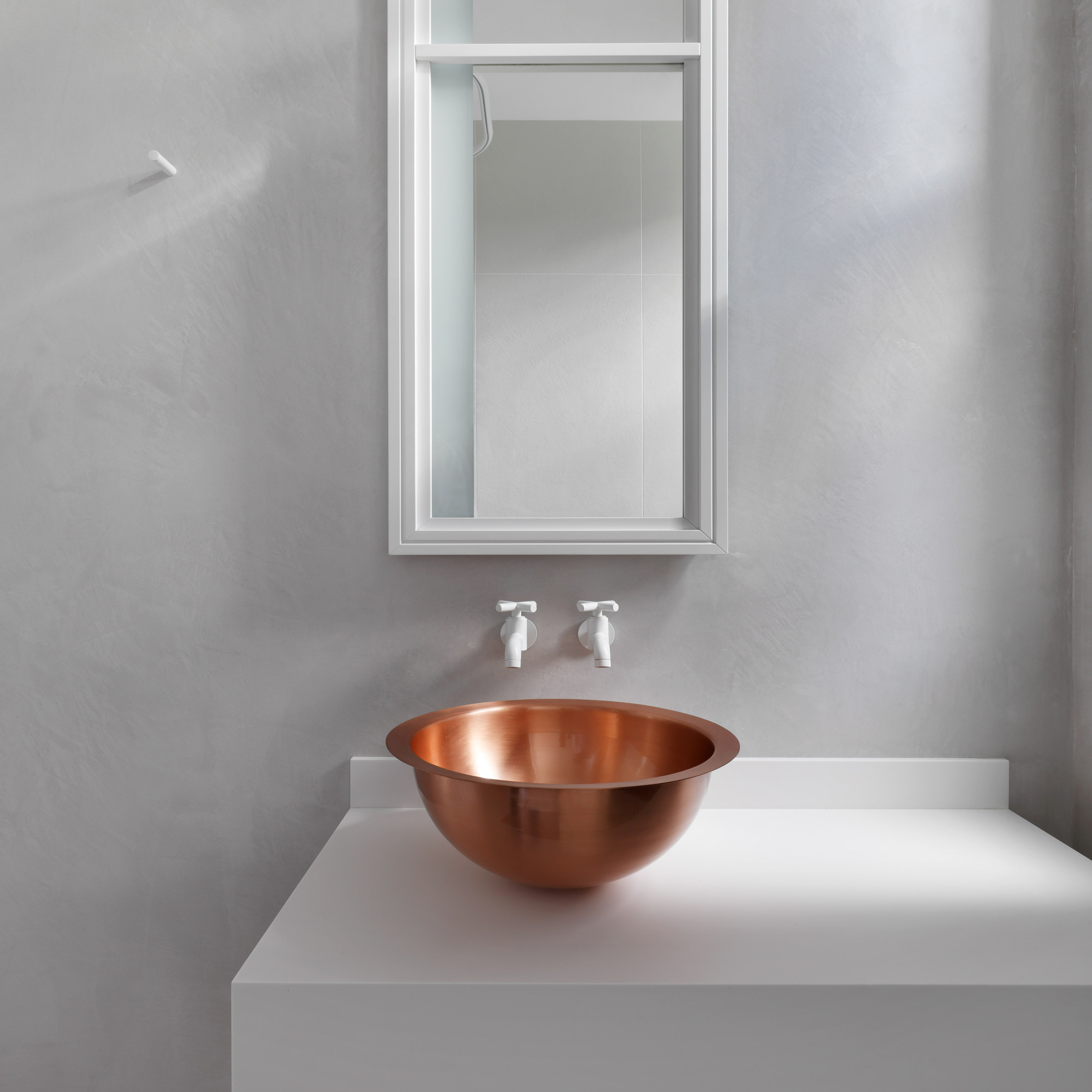 10 minimalist bathrooms that have barely anything in them. Bathroom products and interior design   Dezeen
