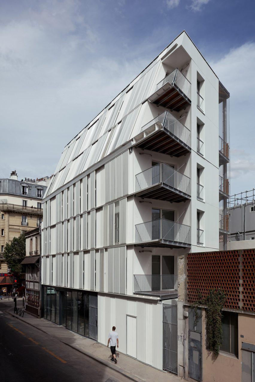 10 Housing Units Castagnary by DFA