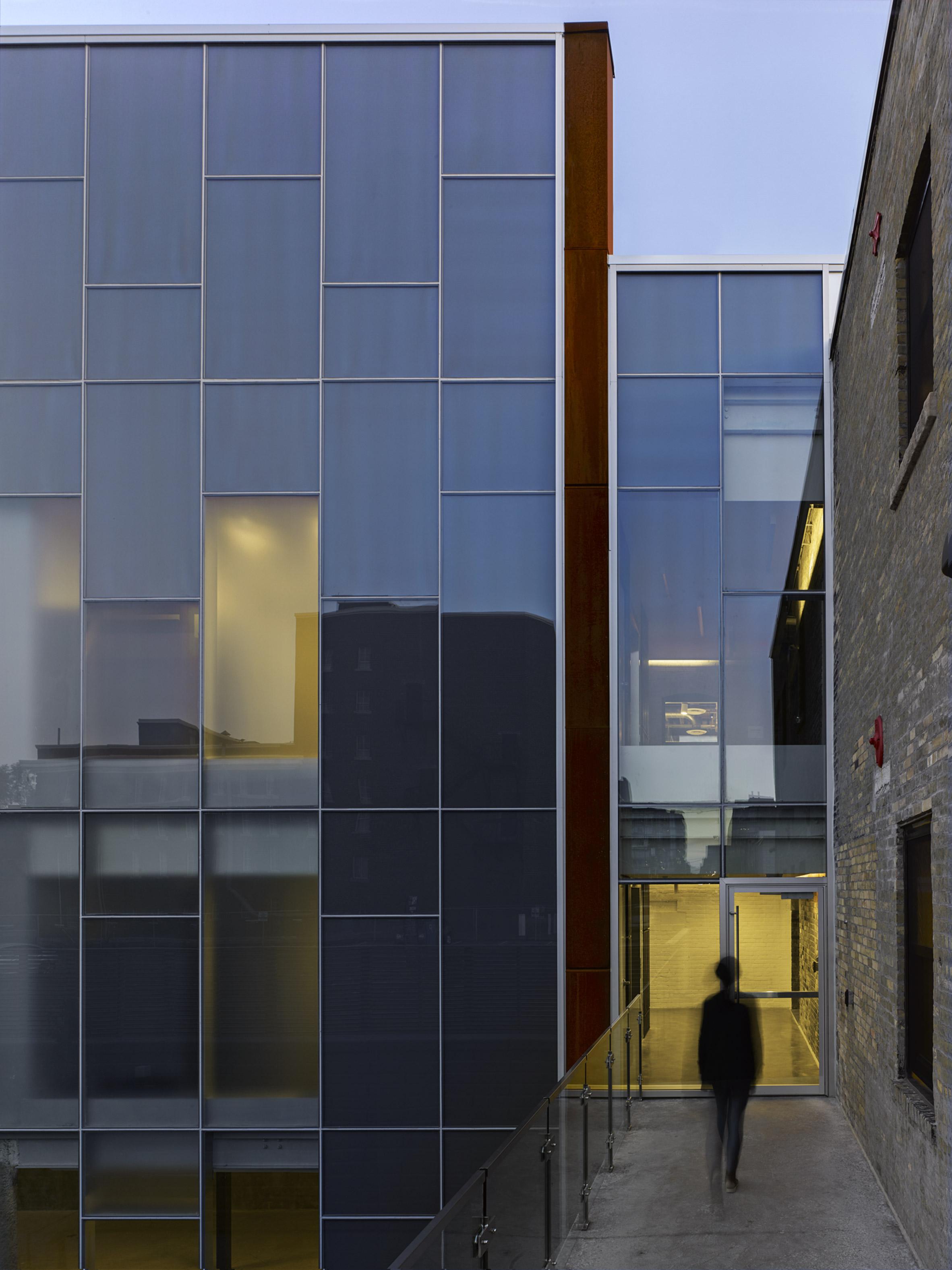 Quadrangle Architects transforms brick warehouse in Toronto into creative workspaces