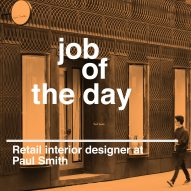 Job of the day: retail interior designer at Paul Smith