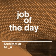Job of the day: architect at AL_A