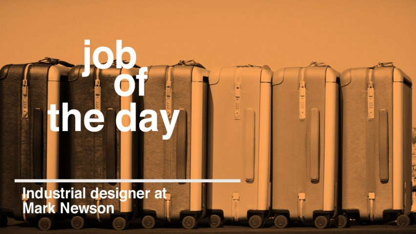 Job of the day: industrial designer for Marc Newson