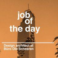 Job of the day: complex geometries design architect at Büro Ole Scheeren