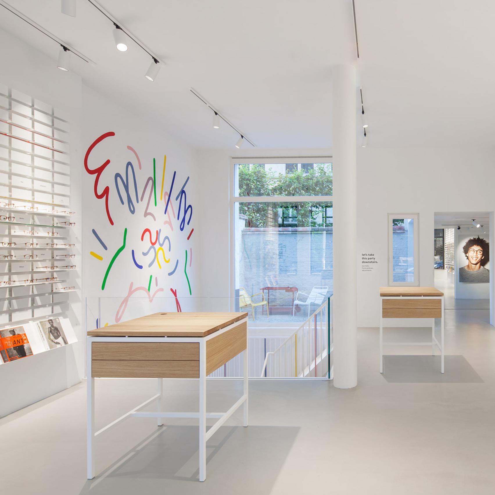 Standard Studio Designs Minimal Interior For Antwerp Glasses Store