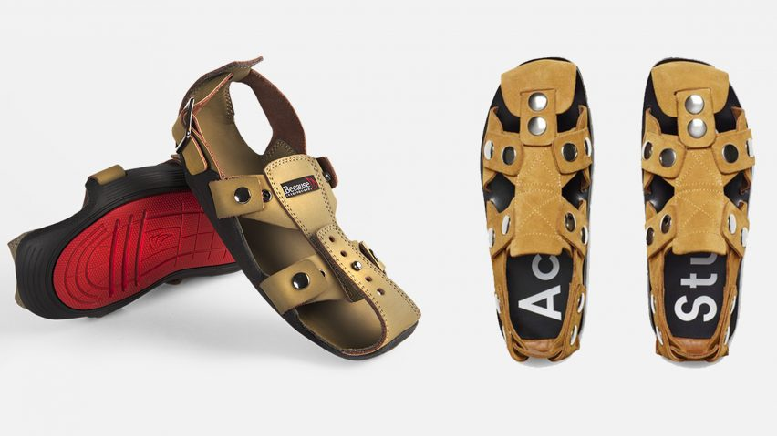 "Acne Studios stops sales of ""African inspired"" sandal following comparisons made with charity design"