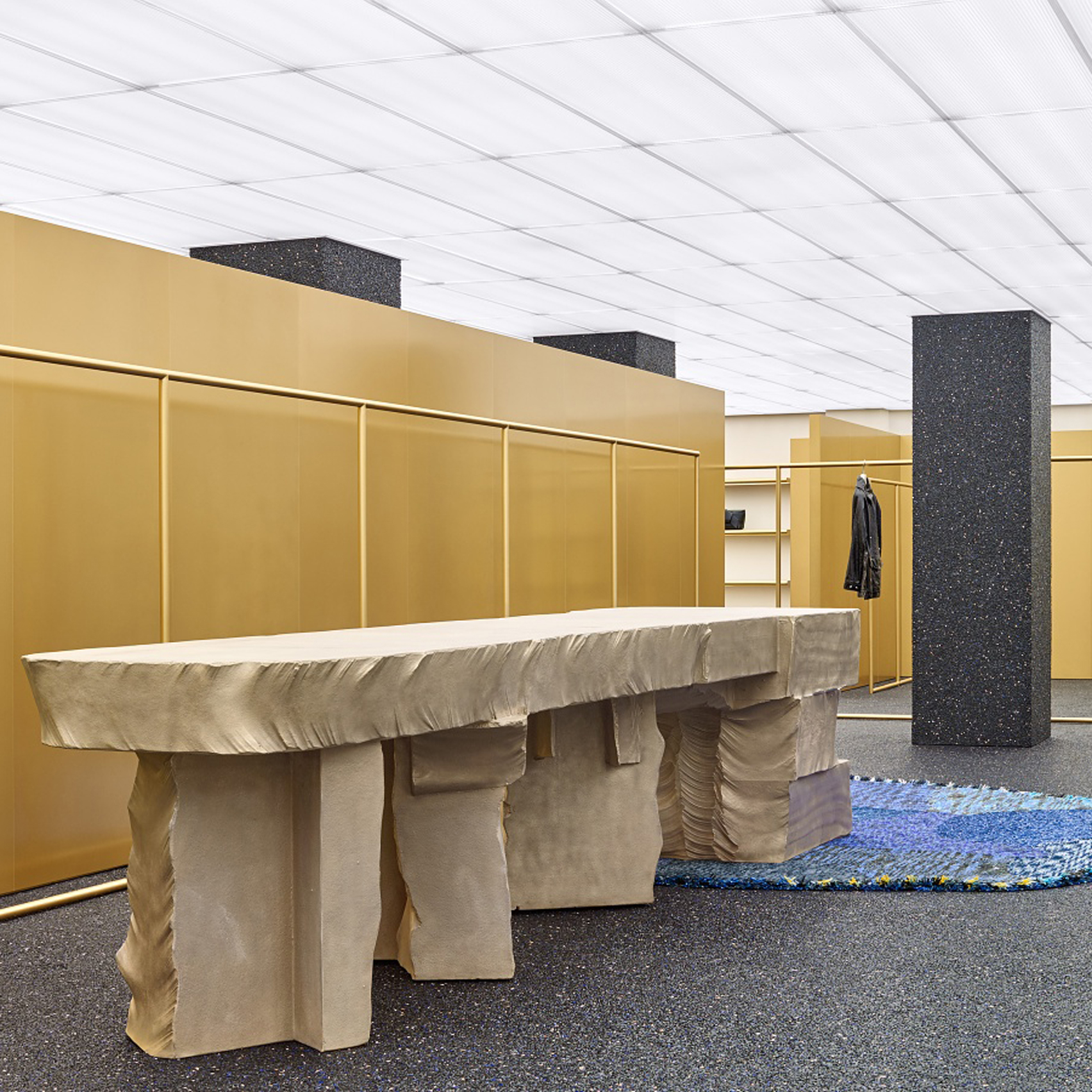 1c8806898747 Acne s Madison Avenue store furnished by Max Lamb
