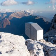 Precarious Alpine cabin by OFIS offers shelter to Slovenian climbers