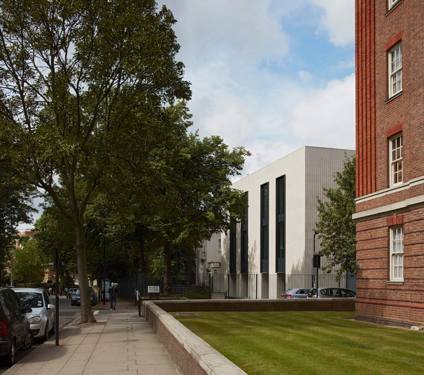 American School in London Arts Building by Walters & Cohen