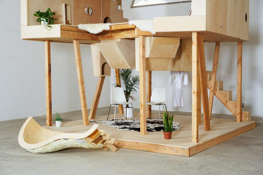 Another Primitve Hut by Bureau Spectactular