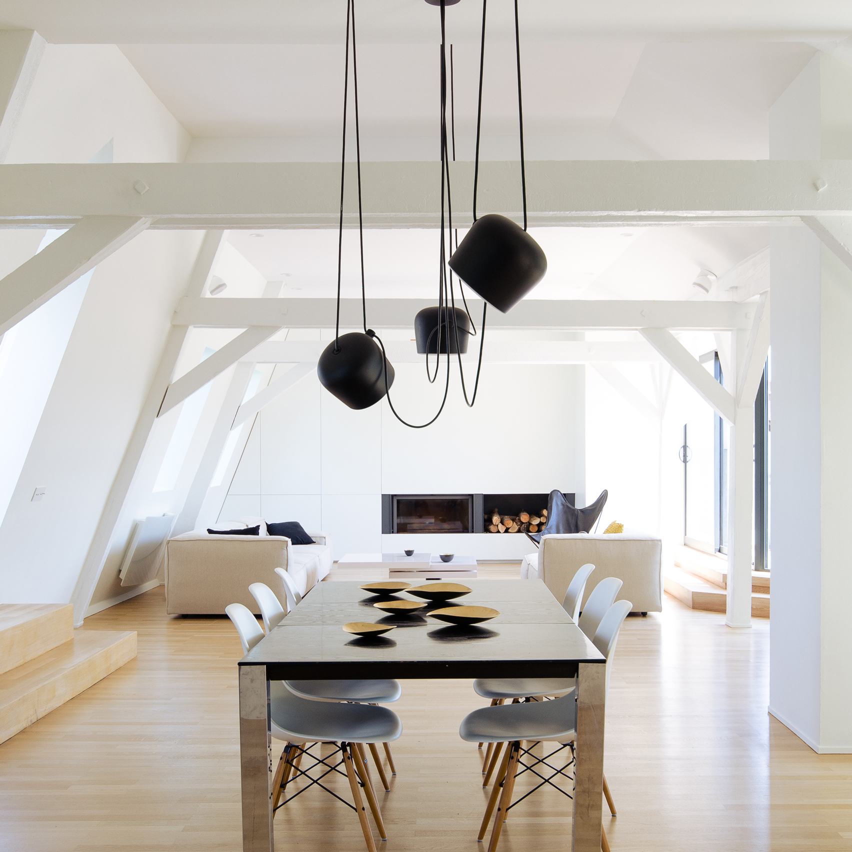 Attic Conversion by f+f architectes