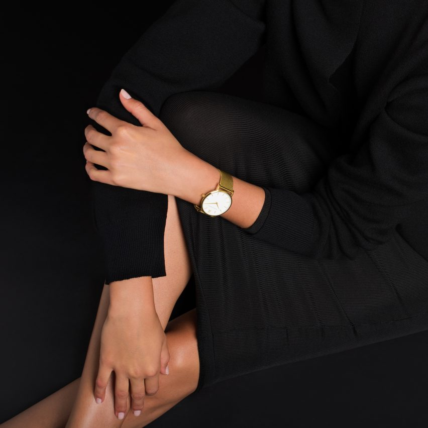 Larsson & Jennings' Lugano watch in Gold is in the Black Friday Sale