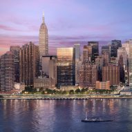 Richard Meier releases more images of black tower for New York