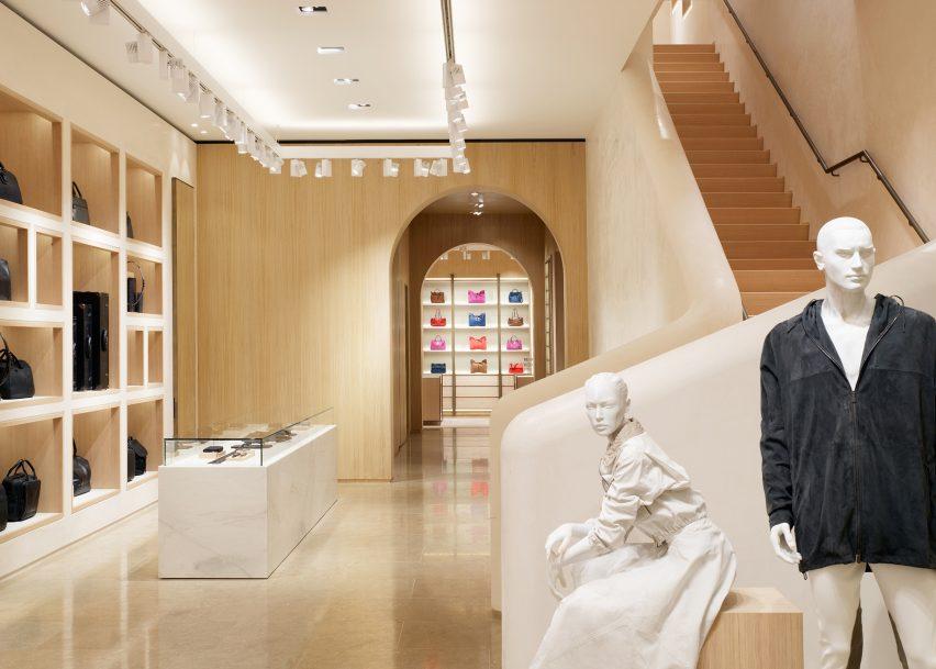 Bottega Veneta's Maison boutique by Tomas Maier