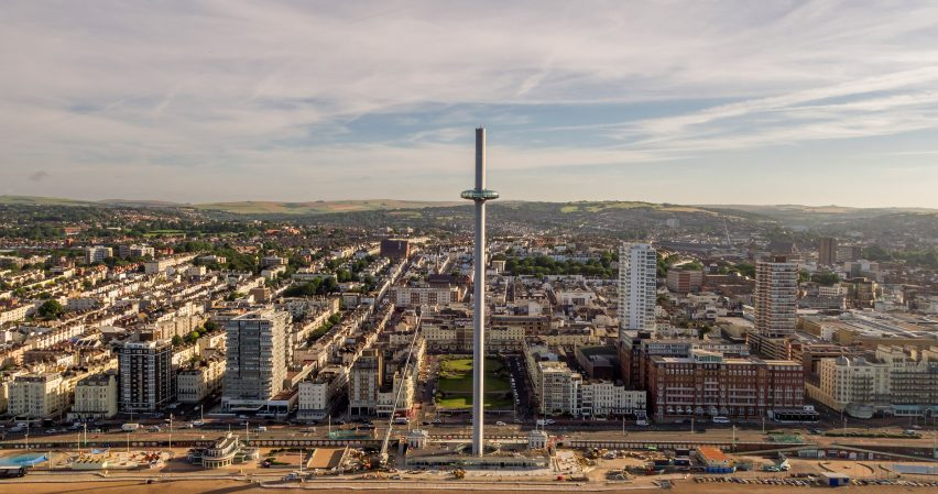 British Airways i360 observation tower