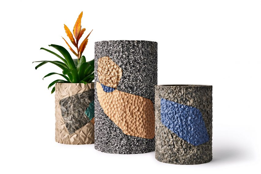 Planters by Philippe Malouin for Caesarstone