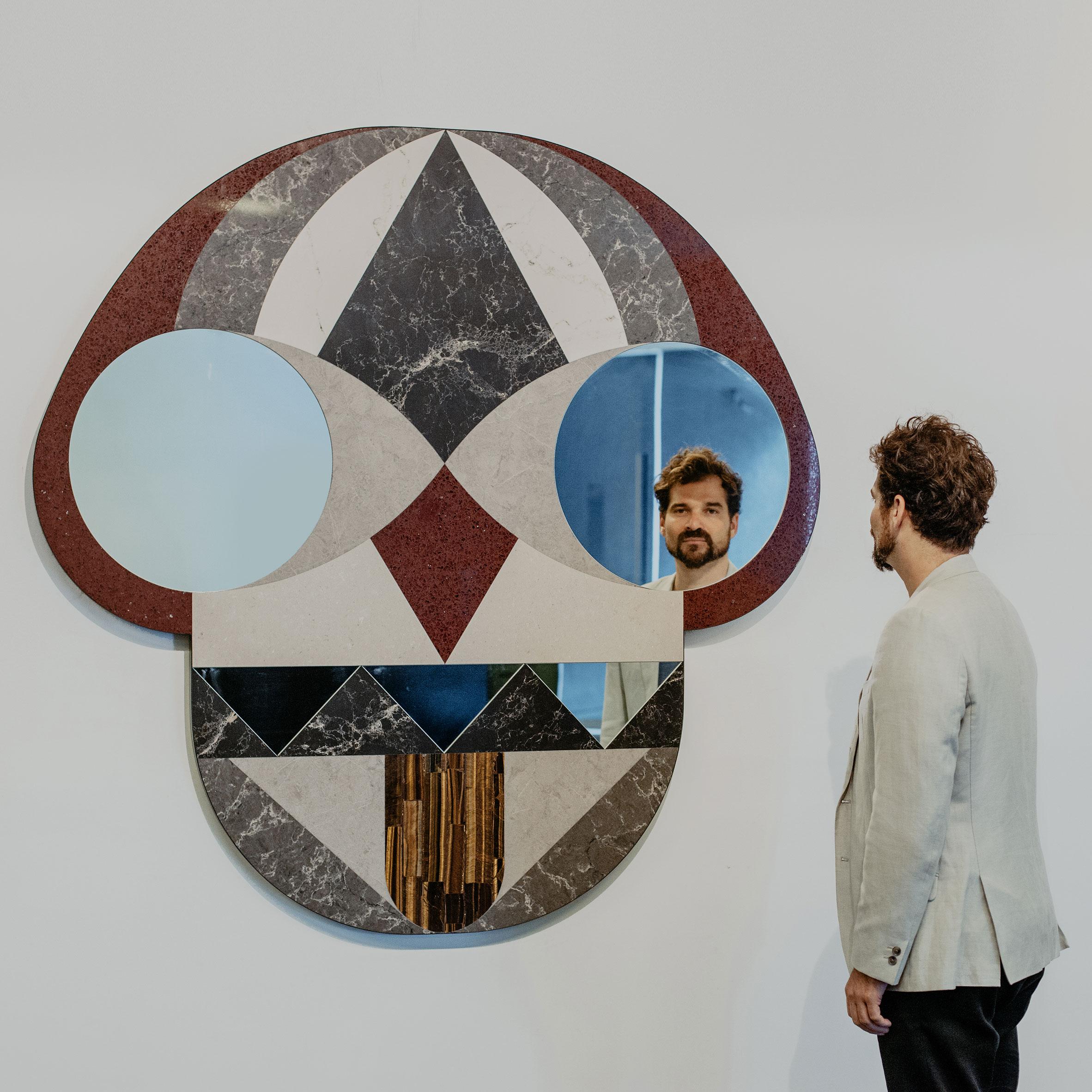Jaime Hayon's mirror for Caesarstone