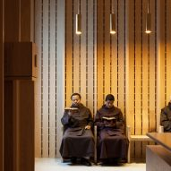 Niall McLaughlin Architects adds timber-lined prayer room to historic Dublin church