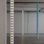 Chains by Ronan and Erwan Bouroullec at Galerie Kreo
