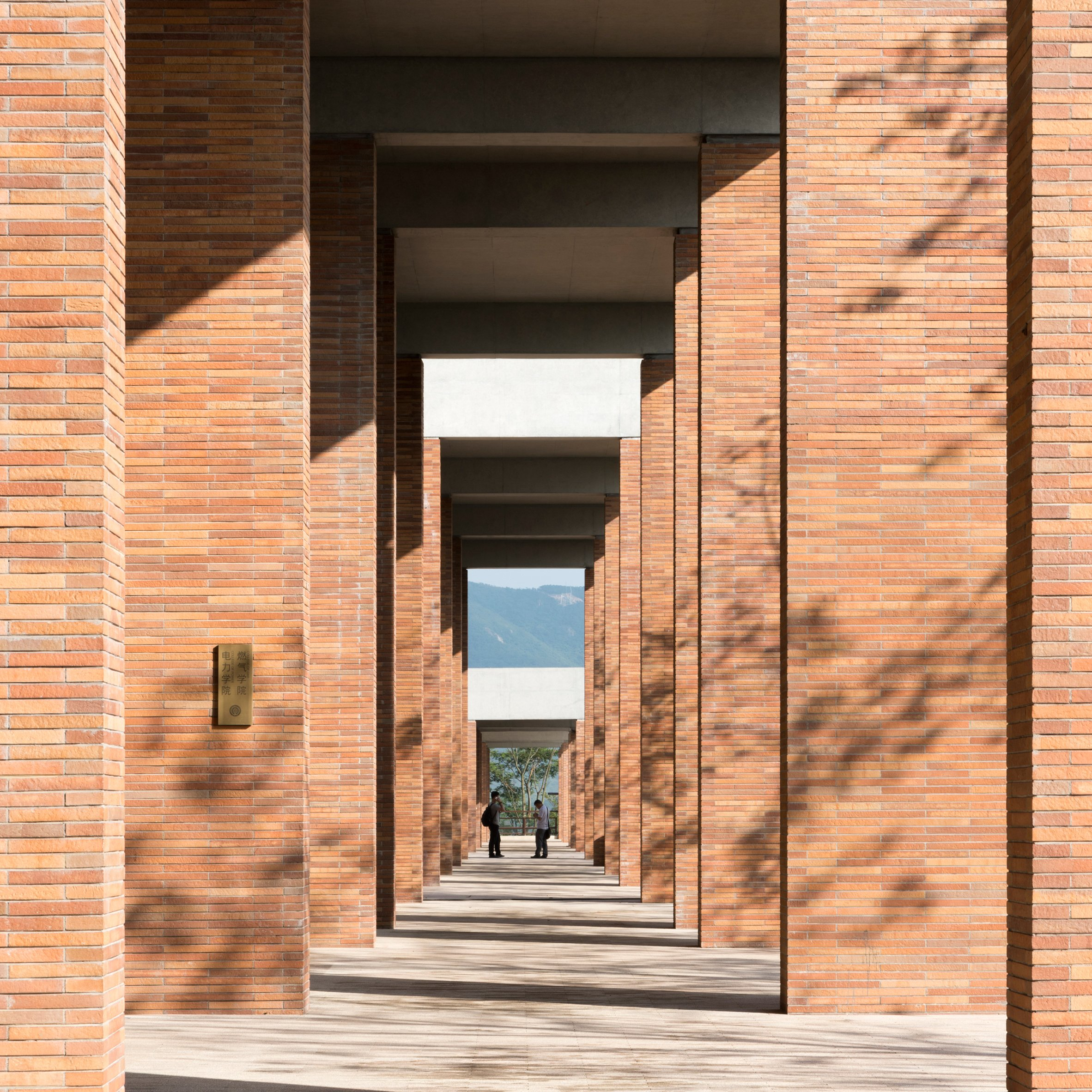 Foster Partners Uses Extra Long Bricks For Chinese University Campus