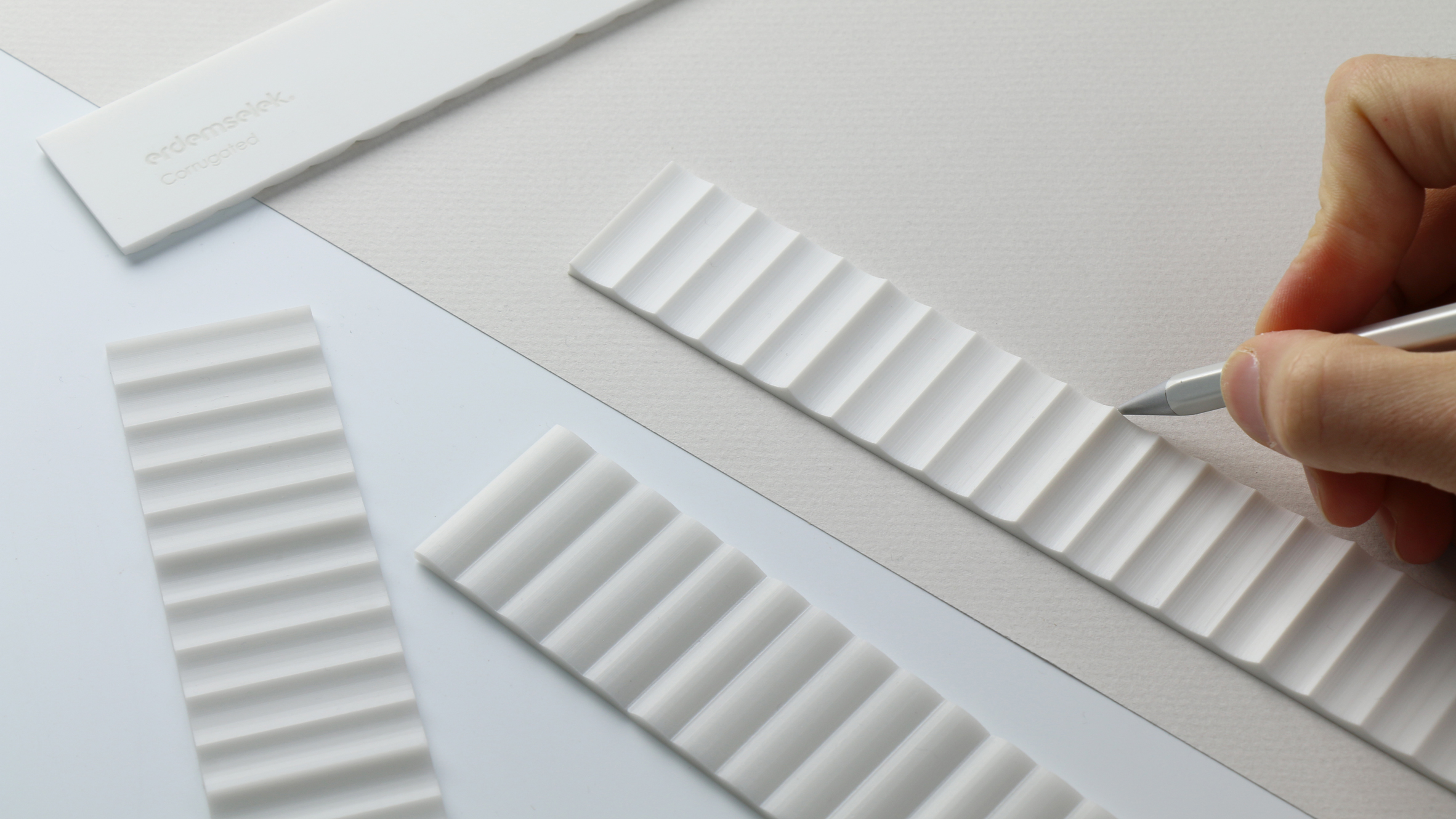 Corrugated Ruler by Erdem Selek