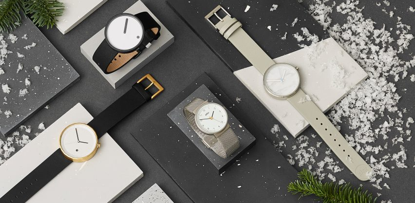 Styles by Chi and Chi, Rosendahl, AÃRK and Braun feature in the Modern minimal category comprising watches under £150