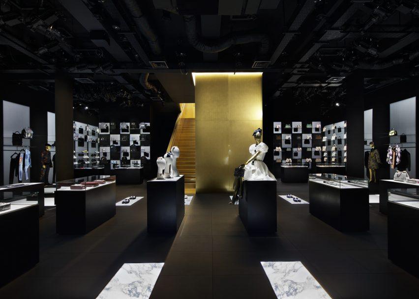 Dolce & Gabbana's Aoyama store by Curiosity