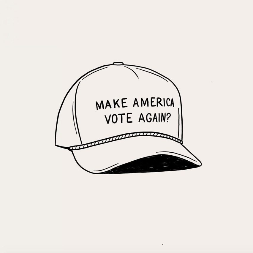 Make America Vote Again? illustration