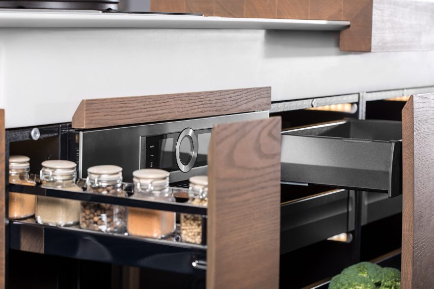 Dsignedby creates space-saving kitchen unit for millenials on