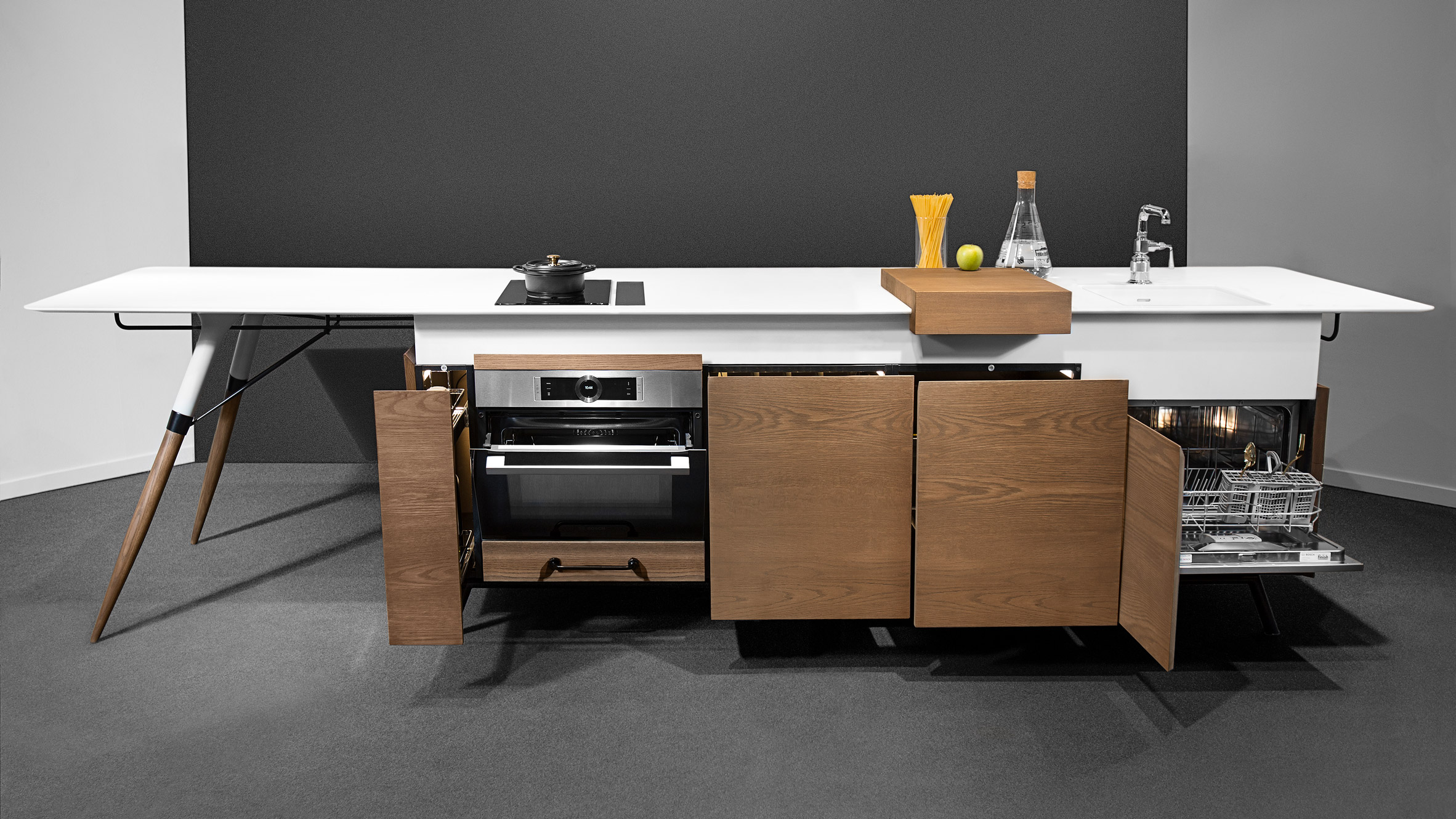 Space Saving For Kitchens Creates Space Saving Kitchen Unit For Millenials