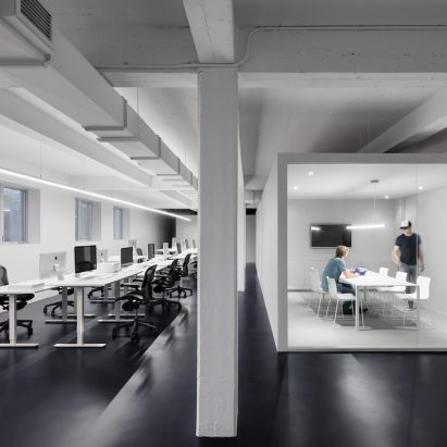 Anne sophie goneau dezeen for Interior exterior building supply corporate office